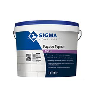 SigmaFacade Topcoat satin- 100% акрилна боя